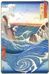 hiroshige-rapids